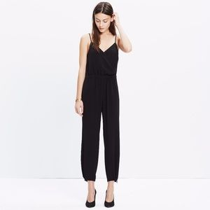 [ nwt ] MADEWELL Faux Wrap Cami Jumpsuit.